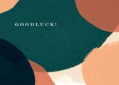 Paintery - Good Luck Card #greetingcards #printable #diy #goodluck 80th Birthday Cards, Happy Birthday Balloon Banner, Free Birthday Card, Happy 80th Birthday, Birthday Card Template, Thank You Card Template, Diy Birthday, Wedding Congratulations Card, Good Luck Cards