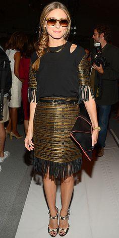 Olivia Palermo New York Fashion week 2013