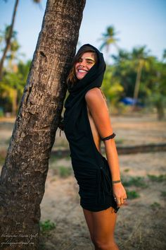 Convertable Multi Adjustable Black Hooded Dress Hippy Psy Trance Festival                                                                                                                                                                                 More