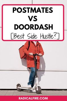 Do you want to make extra money by delivering food and find it hard to decide if Postmates or DoorDash is right for you? You will learn the differences between Postmates vs DoorDash and see which fits your situation best. Make extra money starting today! #makemoney #extramoney Make Money Online, How To Make Money, Dividend Investing, Creating Wealth, Finance Organization, Financial Peace, Managing Your Money, Investing Money, How To Get Rich