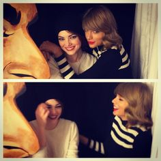 Pin for Later: We Can Only Imagine How Taylor Swift and Her Fashion Squad Will Celebrate Friendship Day Emma Stone Taylor and Emma are both New Yorkers now that Emma is in town starring in the Broadway show Cabaret.