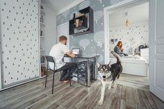 Relax in scandinavian style • Scandinavian - Living room - Abstraction - Wall Murals • Pixers® • We live to change