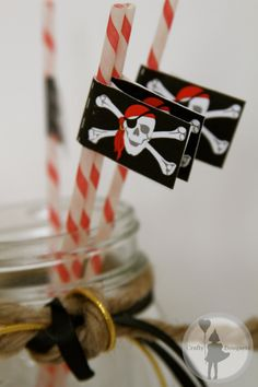 Pirate Party Labels Package Printable Edition by craftybouquets, $15.00