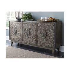 Fair Ridge - Dark Brown - Console by Signature Design by Ashley. Get your Fair Ridge - Dark Brown - Console at Furniture World Superstore, Lexington KY furniture store. Wood Sideboard, Credenza, Sideboard Furniture, Entryway Furniture, Living Room Furniture, Home Furniture, Furniture Stores, Accent Furniture, Furniture Chairs