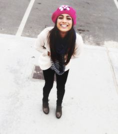 Ally Brooke Hernandez Ally Brooke Hernandez, Fifth Harmony, Norman, Winter Hats, Hipster, Style, Fashion, Camila Cabello, Swag