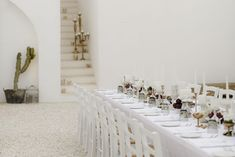 Elevated Simplicity in Puglia - The Lane Wedding Reception Layout, Reception Table, Wedding Reception Decorations, Table Decorations, Wedding Decor, Wedding Venues, White Wash Walls, Marquee Wedding, Lounge Areas