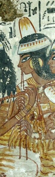 Tomb-chapel of Nebamun Thebes, Egypt Late 18th Dynasty, around 1350 BC.