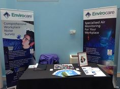 This was our stand at the IOSH Health & Safety Roadshow yesterday in Nelson, Lancashire
