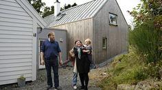 Gammelt hus, nytt tilbygg - Fædrelandsvennen