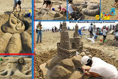 Contest | Flickr - Photo Sharing! NYC Sand sculpting contest-Coney Island Beach
