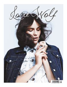 Lone Wolf magazine, April 2014 photographed by Jette Stolte