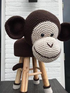 Aanvullend patroon Dierenkruk AAP haken | Etsy Crochet Monkey Pattern, Crochet Animal Patterns, Stuffed Animal Patterns, Cute Crochet, Crochet For Kids, Crochet Animals, Crochet Crafts, Crochet Yarn, Crochet Toys