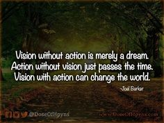 #Vision #Action