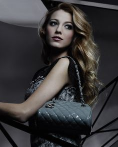 Blake Lively by Karl Lagerfeld for Chanel Mademoiselle Handbag 2011