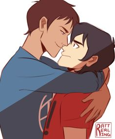"""rattersarts: """" """"""""I cradled you in my arms!"""" """" Time to return the favor, Lance """""""
