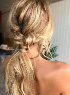 Hair hair styles hair color hair cuts hair color ideas for brunettes hair color ideas Wedding Hairstyles For Long Hair, Pretty Hairstyles, Bohemian Hairstyles, Hairstyle Ideas, Prom Hairstyles, Braided Hairstyles, Latest Hairstyles, Blonde Hairstyles, Hair Wedding