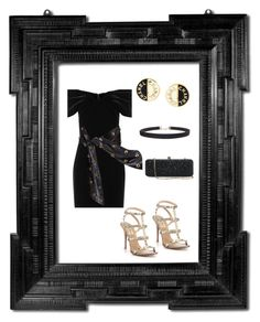 """""""LBD ( In Diana's Style)"""" by klm62 ❤ liked on Polyvore featuring Emilio De La Morena, Yves Saint Laurent, Valentino, White House Black Market, Humble Chic and Chanel"""