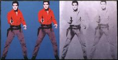 "Andy Warhol. ""Elvis I and II"" 1964"