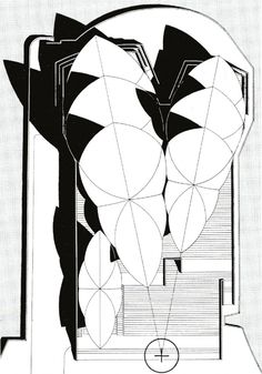 Original Roof Plan - Sydney Opera House © Jørn Utzon / Courtesy of Bibliodyssey Architecture Drawings, Art And Architecture, Architecture Details, Sidney Opera, Jorn Utzon, Monuments, Australian Architecture, Roof Plan, Sydney