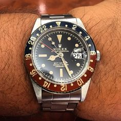 GMT.... Rolex.... circa 1960.... 57 years old.... cool