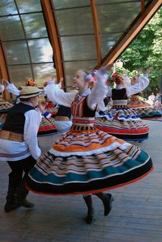 from 'folkthings'  Folk costumes of Lublin, Poland
