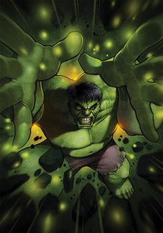 #Hulk #Fan #Art. By: SimonLoche.