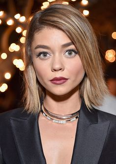 If you're looking for more berry lip inspiration for fall, look no further. Sarah Hyland made the rich lipstick hue the center of her most recent beauty look, and we've got the exact shade straight from her makeup artist.