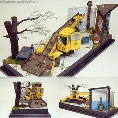 Scratch build Soviet snow loader KO-206A 1/35 diorama. Modeler Alexey Velichkovskiy #scalemodel #plastimodelismo #miniatura #miniature #hobby #diorama #scalemodelkit #plasticmodel #plastickits #usinadoskits #udk #scratch #plastimodelo