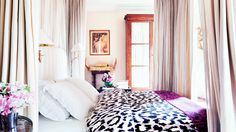 Diane Von Furstenberg's Paris bedroom. Domaine Home: 12 Celebrities Who Know How to Personalize Their Spaces