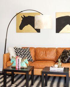 DIY: Cowhide L&shade & 266 best DIY Floor Lamp Ideas images on Pinterest in 2018 | Diy ...