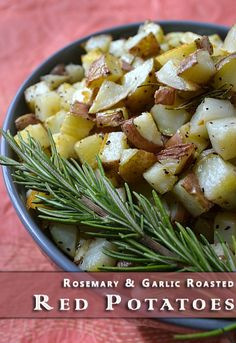 Rosemary & Garlic Roasted Red Potatoes Recipe