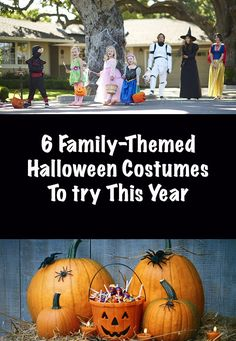 6 Family-Themed Halloween Costumes To Try This Year!