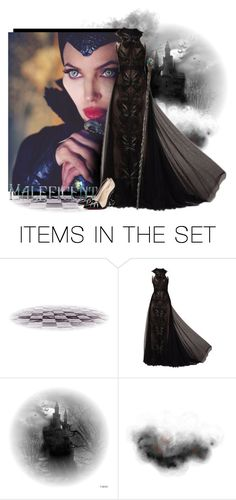 """""""Maleficent!"""" by miss-image ❤ liked on Polyvore featuring art"""