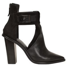 TIBI Pia Booties ($535) ❤ liked on Polyvore