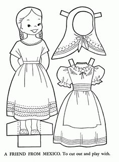 mexican coloring pages for kids - Children Coloring Book