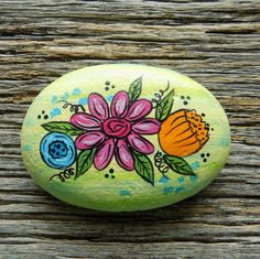 Rock Painting Patterns, Rock Painting Ideas Easy, Rock Painting Designs, Pebble Painting, Stone Painting, Painting Art, Pebble Art, Stone Crafts, Rock Crafts
