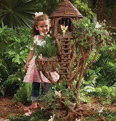 fairy garden ideas fairy house tree branches garden decor