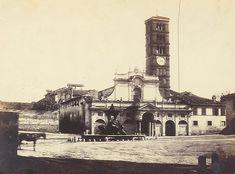 Foto storiche di Roma - Santa Maria in Cosmedin Anno: 1860/65