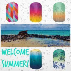 #summer #jamberry #nails #pedicure #beach https://www.facebook.com/bmpjamberry  www.bmp.jamberrynails.net