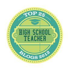 Top 25 High School teacher blogs of 2012