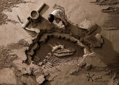 【Print Ads】OMO Detergent - Dirt is Good (Archaeologist)