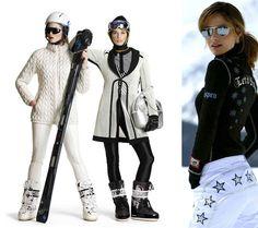 www.comocombinar.com Moon Boots, Skiing, Winter Jackets, Punk, Fashion, Seasons, Winter, Elegant, Style