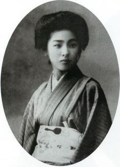 青井テイ子(明治のミスコン出場者、明治時代の美人ランキング)の拡大画像