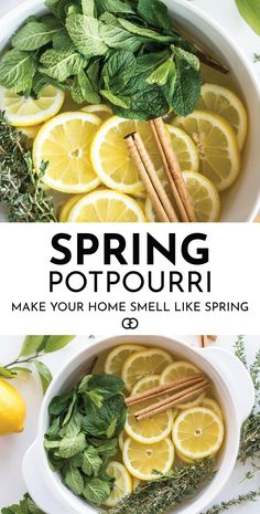 These Stovetop Potpourri ideas create an amazing natural homemade scent that will bring the smell of spring into your home. Such easy recipes that you can leave on your stove all day long simmering. Stove Top Potpourri, Simmering Potpourri, Homemade Potpourri, Potpourri Recipes, House Smell Good, House Smells, Household Cleaning Tips, Cleaning Hacks, Cleaning Quotes
