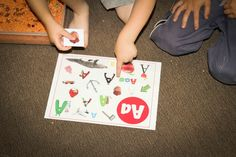 Alphabet Find It! Sensory Bin Game