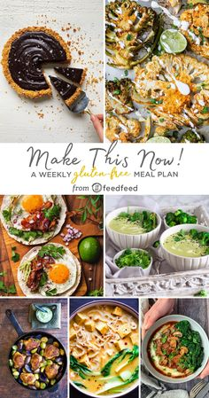 Ready To Cook? Here's This Week's Gluten Free Meal Planner! Cook Skins, Peruvian Chicken, Spring Soups, Free Meal Planner, Tofu Curry, Braised Brisket, Vegetable Stock Cubes, Group Recipes, Breakfast Recipes