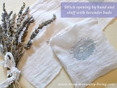 5 Easy Steps to Make French Lavender Sachets
