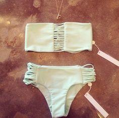Mikoh Swimwear in Seafoam