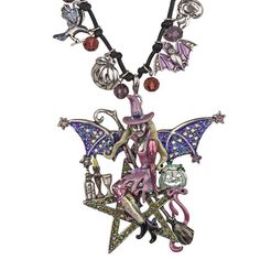Star Goddess Witch Cord Necklace: Kirks Folly Online Web Store