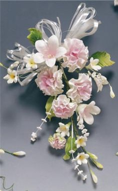 Carnation Spray - Cake Accessories,Wedding Cakes,Gum Paste Flowers,Cake Decorating,Cake Kits,Cake Toppers
